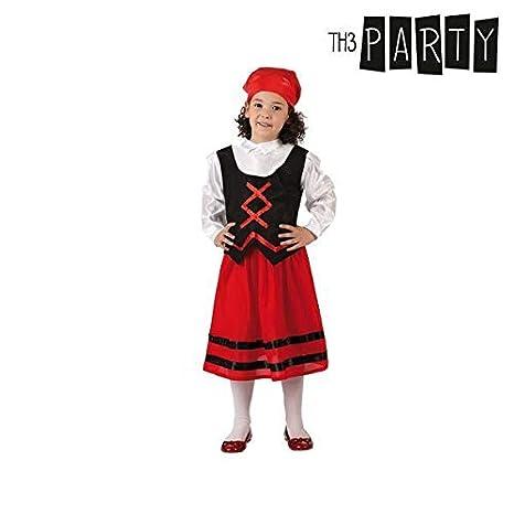 Atosa-32145 Disfraz Pastora Niña Infantil-T, Color Rojo, 7 a ...