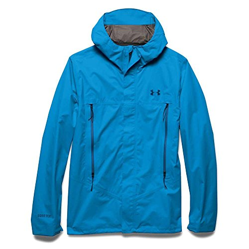 Under Armour Hurakan Paclite Jacket - Men's Electric Blue XXL Gore Tex Paclite Shell