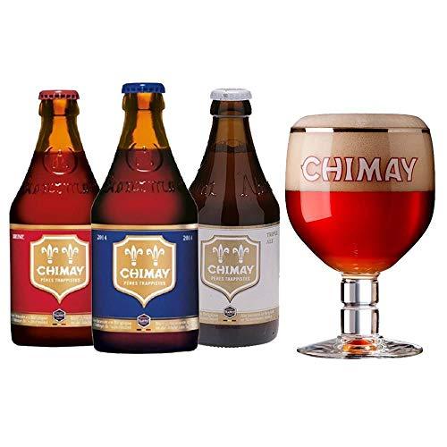 Kit Chimay Cervejas com Taça