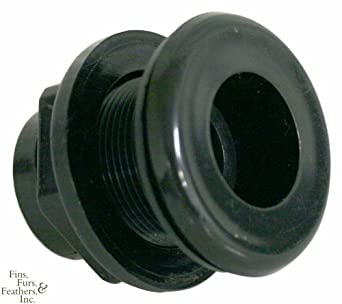 Double Slip Bulkhead Fitting - 1-1/2 inch: Rv Sewer