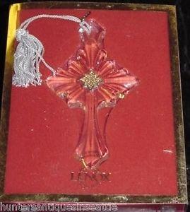 Lenox Pave Jewels Scrolled Cross Ornament