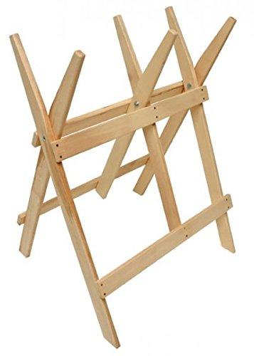 Holz Sägebock Holzsägebock Klappbock Arbeitsbock Bock Buche 660x550x800mm