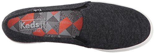 Keds Vrouwen Triple Decker Sweatshirt Jersey Fashion Sneaker Zwart