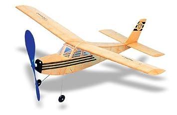 Topaz West Wings Balsa Wood Model Rubber Band Powered Sport Plane