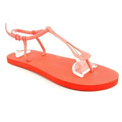 Lacoste - Sandalias para mujer rojo rojo 7 UK