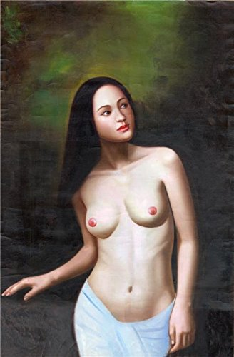 Oil Painting 'A Nude Woman', 18 x 27 inch / 46 x 70 cm , on High Definition HD canvas prints is for Gifts And Bed Room, Dining Room And Gym Decoration, wall artwork