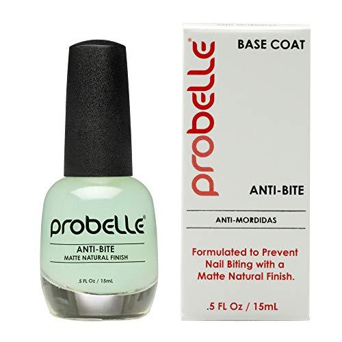 Probelle Anti-Bite – Nail Biting Treatment for Kids & Adults – No Bite Nail Polish, Thumb Guard & Thumb Sucking Stop – 5 fl oz (15 - Nail Bitter
