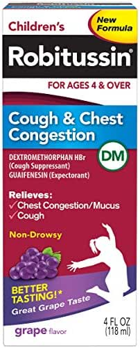 Cough & Sore Throat: Robitussin