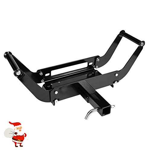 LITE-WAY Universal Winch Cradle Winch Mounting Plate - Winch Mount Bracket for Recovery Winches