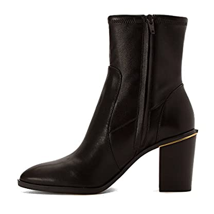 Michael Kors Michael Womens Chase Ankle Boot, Dark Brown, Size 9.0 US/7 UK US 3