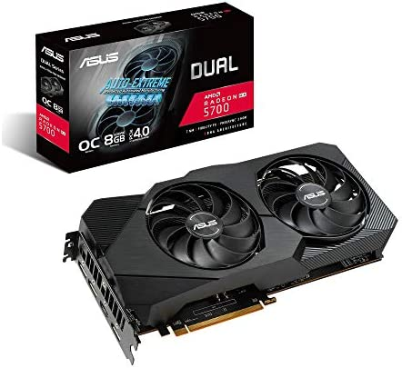ASUS Dual Radeon RX 5700 EVO OC Edition 8GB GDDR6 - Tarjeta ...