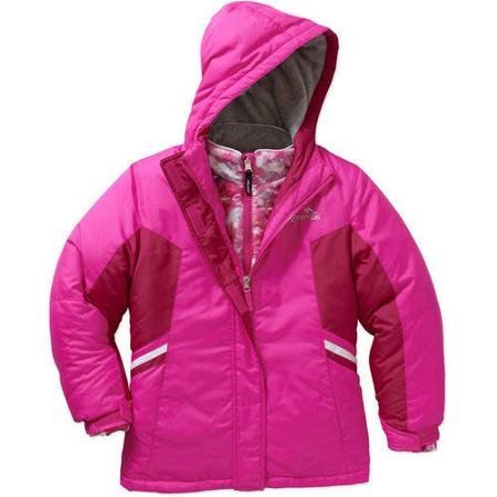 Mountain Xpedition Girls 3 in 1 Snowboard Jacket Ski Coat 6 6X Pink by Mountain Xpedition