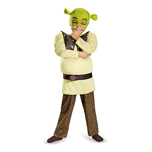 Toddler Shrek Costumes (Shrek Toddler Muscle Costume, Small (2T))