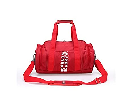 cd1cf36678f2 Amazon.com : Traveling Polyester Large Capacity Gym Bag Sports ...