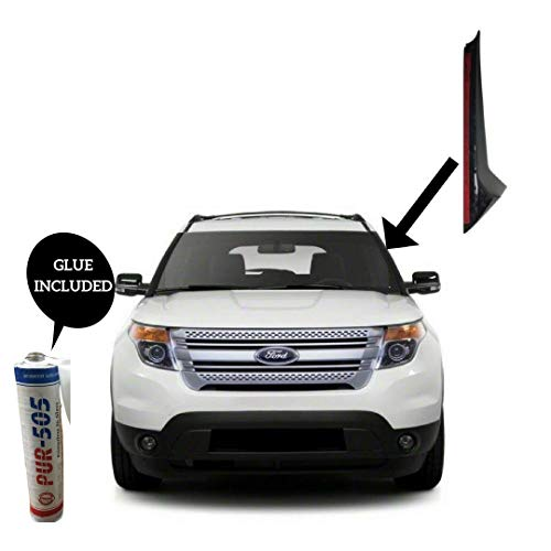 - Ford Explorer Windshield-Outer Pillar Windshield Trim Molding LH Driver Side