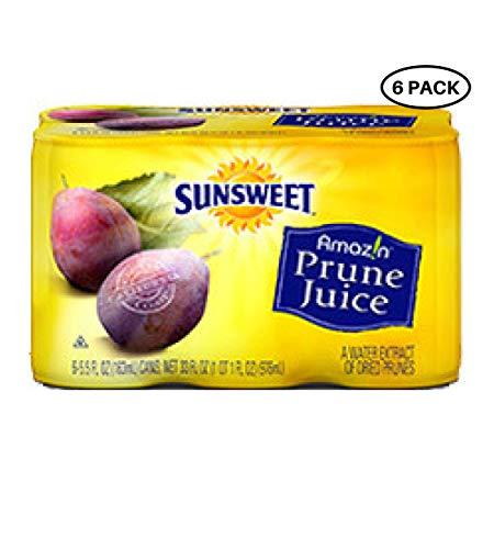 (Sunsweet Prune Juice, 6pk, 5.5 oz)