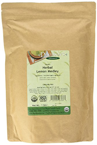 Davidson's Tea Bulk, Herbal Lemon Medley, 16-Ounce Bag (Lemon Loose Leaf Tea)