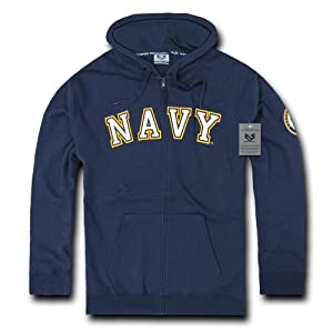 Amazon.com : Rapiddominance US Navy Full Zip Hoodie : Camouflage ...