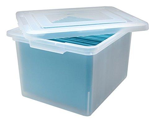 File Storage Box in Clear ()