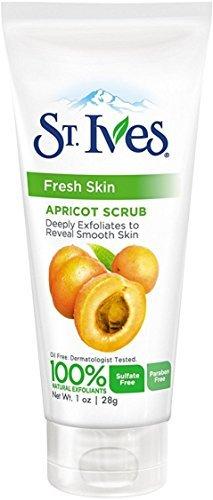 (St. Ives Fresh Skin Invigorating Apricot Scrub Unisex 1 oz (Pack of 2))