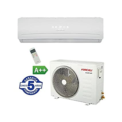 FORCALI Aire Acondicionado Split Inverter 3000 frig/h - Bomba Calor Platinum HDC