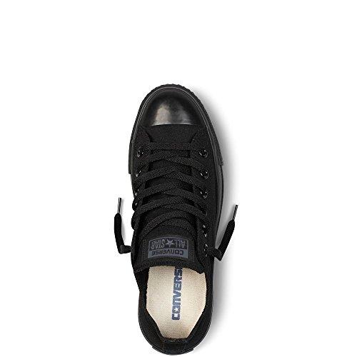 Omgekeerde Cuck Taylor A / S Ox Unisex Sneakers M5039 Zwart Monochroom