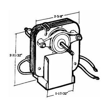 United States Hardware V 001b Exhaust Fan Motor