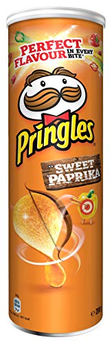 Pringles Sweet Paprika Chips | Einzelpackung | 200g