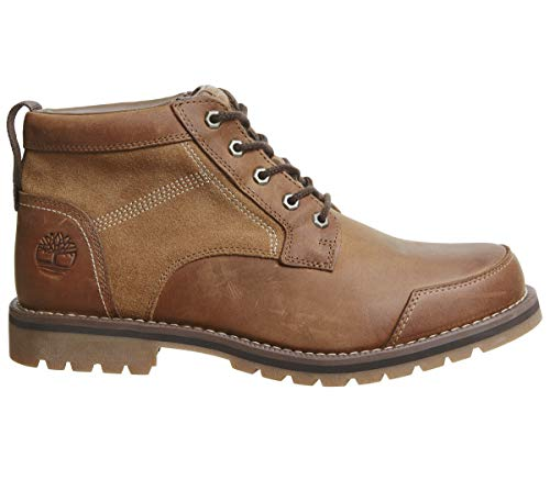 Timberland Mens Larchmont Chukka Brown Lace Up Ankle Boots Size (Timberland Men Footwear Ankle Boots)