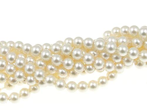 - 200 pcs Swarovski 5810 Crystal Pearls beads 3mm CREAM PEARL (001 620)
