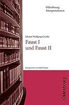 Oldenbourg Interpretationen: Faust I und…