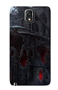 New Castle Tpu Case Cover, Anti-scratch BNFudmR579sLTbl Phone Case For Galaxy Note 3 With Design