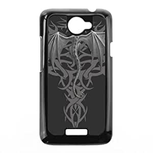 Dragon tribal HTC One X Cell Phone Case Black Protect your phone BVS_689490