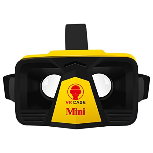 T1 Remote Module (Hometom vr, Mini Virtual Reality Glasses For Smartphone Immersive vr Headset Compliant With iPhone & Android Cell Phone (Yellow))
