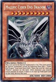 Yu-Gi-Oh! - Malefic Cyber End Dragon (YMP1-EN004) - 3D Bonds Beyond Time Movie Pack - Limited Edition - Secret Rare