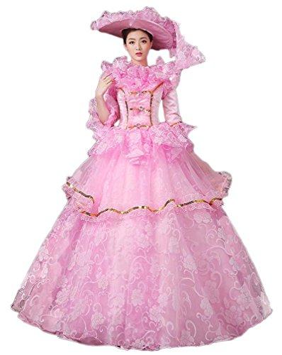 Ball Costume Halloween Prom Gown Soojun 4 Cosplay Dresses Show HASzWF