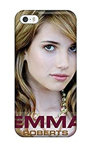 Fashion Protective Emma Roberts?wallpaper Case Cover For Iphone 5/5s