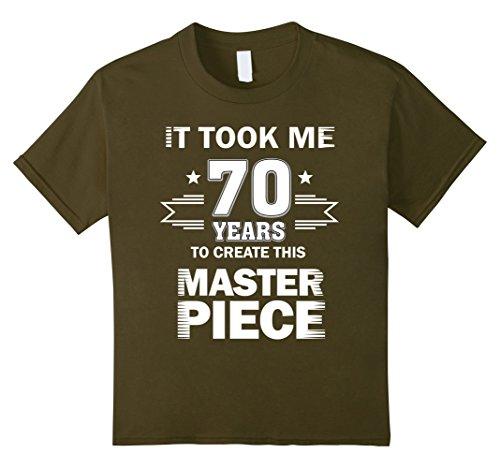 Mimes Costume Ideas (Kids Funny 70 Years Old Joke Shirt 70th Birthday Gag Gift Idea 8 Olive)