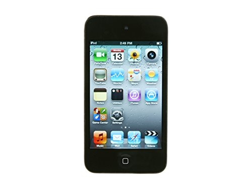 Apple iPod touch FC540LL/A 8 GB Black - 4th Generation (Renewed)