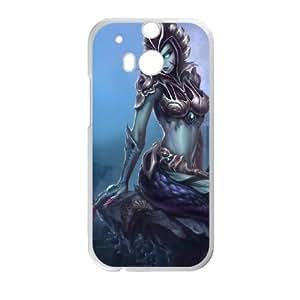 HTC One M8 White phone case League of Legends Cassiopeia LOL2825267