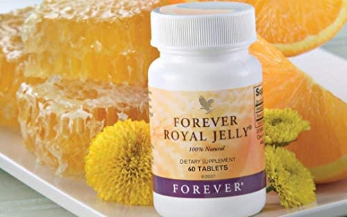 Forever Royal Jelly 100% Natural, Pack of 2 (120 Tablets)
