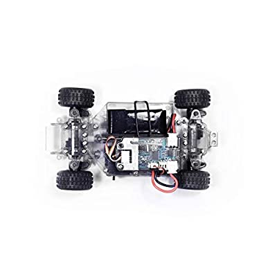 Rage RC C2400 Mini-Q 1/24 Scale 4WD On-Road Race Car DIY Kit, Everything Inlcuded: Toys & Games