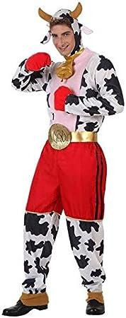 Disfraz de Vaca Boxeadora Hombre: Amazon.es: Juguetes y juegos