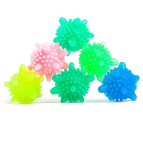 Bihood Laundry Ball Washing Ball Laundry Balls Laundry Balls for Washer Laundry Balls for Washing Machine Laundry Balls for Dryer Laundry Balls for Washer and Dryer Washing Ball Green Clean Practical