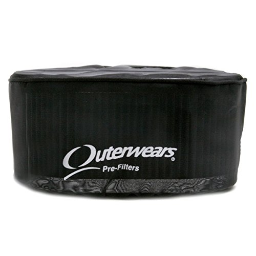 Black Outerwear Prefilter Oval 4.5
