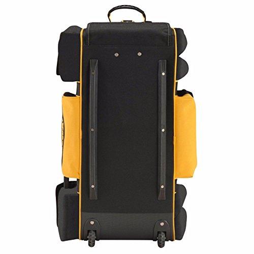 Dewalt DWST1-79210 Duffel Trolley Bag with Wheels Large 26-Inch Yellow//Black
