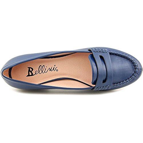 Bellini Donna Fuga Moc-toe Mocassini Moda Classica Blu