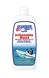 Seapower Marine Inflatable Boat Cleaner -Rubber-Vinyl - 16 oz.