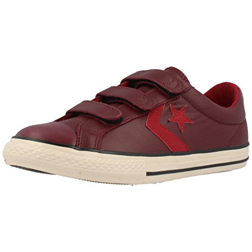 Converse Sp 3V Lea Ox - Zapatillas bajas infantil rojo - rojo (Bordeaux)