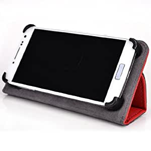 Universal Smartphone case with Stand / Mobile Phone Holder fits Alcatel Idol Alpha